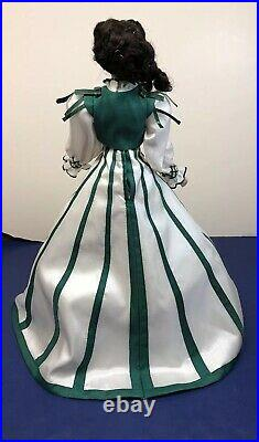 16 Franklin Mint Gone With The Wind Scarlett OHara Rhetts Promise With COA