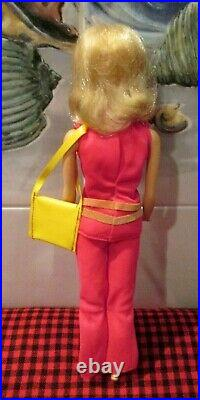1972 Rare Walk Lively Barbie#1182steffie Faceoriginal Outfitcomplete+mint