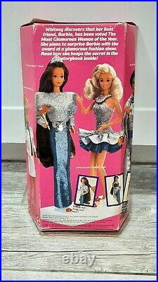 1986 Jewel Secrets Whitney Barbie Doll 1986 New in Box