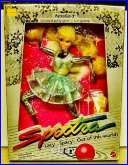 1986 Mattel SPECTRA lot Of 4 Dolls All New MIB