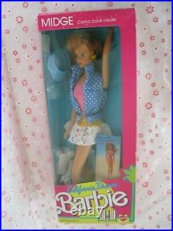 1987 California Dream Barbie-Ken-Midge-Christie-Teresa Complete Lot Dolls New
