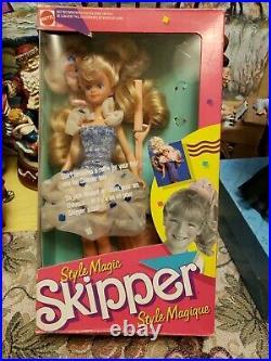 1988 Mattel Style Magic Skipper Barbie 1915 ULTRA RARE