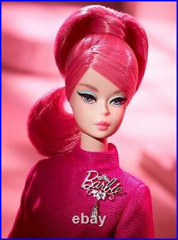 2018 PROUDLY PINK BARBIE Gold Label Collector Doll new NRFB MINT FXD50