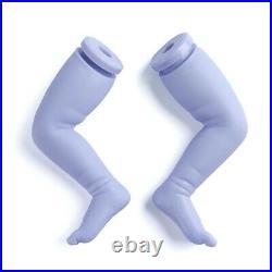 20 Baby Doll Lifelike Reborn Cute BlueBaby Vinyl Unpainted Unfinished Doll DIY