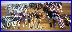 37 Mattel Monster High Lot Dolls + Clothes Shoes & Accessories