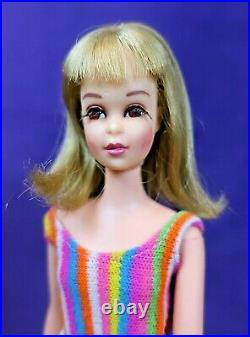 3 Vintage MOD TNT Blonde Brunette & Growin' Hair FRANCIE Barbie LOT OSS BIN