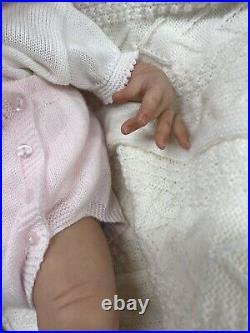 Akina Reborn Baby Doll By Adria Stoete, COA, Mint