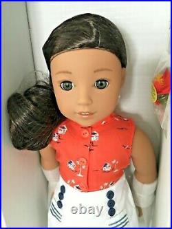 American Girl Beforever Nanea Mitchell Doll 18+Book Hawaiian Doll NIB