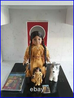 American Girl Doll Kaya+ Book Boxed + Kaya's Accessories All Mint Condition
