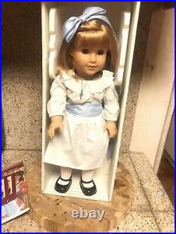 American Girl Doll Nellie O'malley With Accessories, Original Box