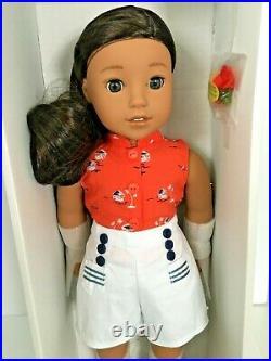 American Girl Historical 1941 Nanea Mitchell Doll 18+Book Hawaiian Doll NIB