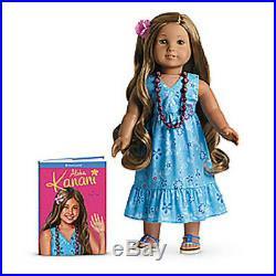 American Girl KANANI DOLL + Bonus PHOTO album for GIRLS Same Bus Day Ship + BOOK