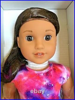 American Girl Luciana Vega Doll & Book 2018 GOTY Aspiring Astronaut 18 NIB