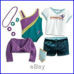 American Girl MCKENNA'S Starter Collection for Gymnastics DOLL practice SET more