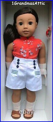 American Girl Nanea Doll & Book 18 inches NIB Hawaiian BeForever Fast Shipping