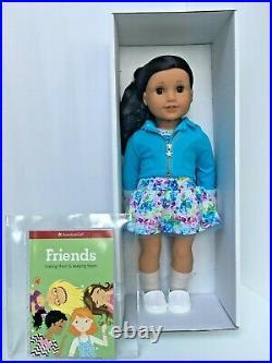 American Girl Truly Me 82 CURLY DRK-BRN Hair BRN Eyes MED Skin 18 Doll+Book NIB