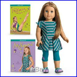 American Girl of the Year 2012 MCKENNA DOLL + 2 books SHIPS TODAY hard to find