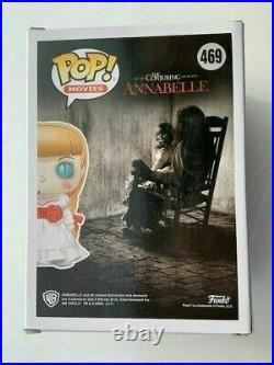 Annabelle Bloody Cute Doll Funko Pop Vinyl New in Mint Box + Protector
