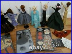Ashton Drake Mel Odom's GENE Doll Lot Of 7 Dolls Plus Case, Xtra Outfits & Stand