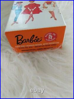 Barbie Let's Play Redhead Ponytail Reproduction Mattel NRFB