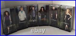 Barbie The Twilight Saga Dolls Set 6 Bella Edward Carlisle Emmett Rosalie Esme
