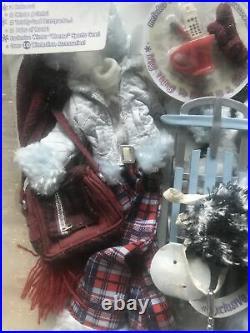 Bratz JADE Wintertime Wonderland Doll Winter Gear Clothes Sled