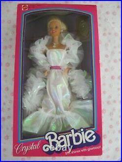Crystal Barbie Doll #4598 Mattel Vintage Superstar Era 1983 NRFB