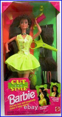 Cut and Style Brunette Barbie Doll (New)