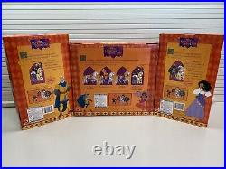 Disney Hunchback Of Notre Dame Lot Dolls- Phoebus, Gypsy Magic Horse, Esmerelda