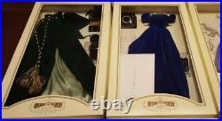 Franklin Mint GWTW Scarlett O'hara Vinyl Portrait Doll +12 Outfit Dress Wardrobe