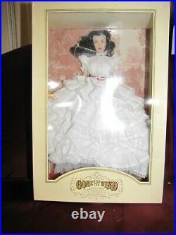 Franklin Mint Gone With The Wind Scarlett O'Hara Vinyl Portrait Doll