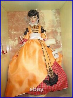 Franklin Mint Gwtw Scarlett Ohara Business Woman Doll Gone With The Wind Shipper