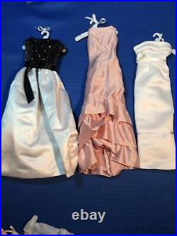 Franklin Mint Jackie Kennedy Doll Wardrobe Trunk Outfits Jewelry Accessories