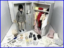 Franklin Mint Jackie O Kennedy Doll Wardrobe Trunk Outfits Jewelry Accessories