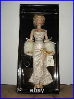 Franklin Mint Marilyn Monroe Millennium RARE LTD Vinyl Doll New with COA