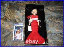 Franklin Mint Marilyn Monroe Vinyl Portrait Doll NRFB