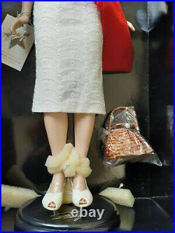 Franklin Mint Marilyn Vinyl Doll WALK OF FAME White Dress Red Sash LE/750 RARE
