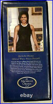 Franklin Mint Official White House Portrait The Michelle Obama Doll Collector