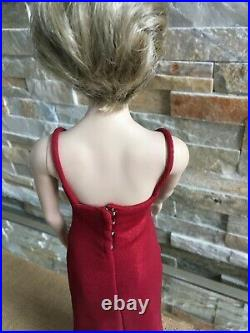 Franklin Mint PRINCESS DIANA 16 Vinyl DOLL in long Red Gown & Shoes