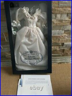 Franklin Mint PRINCESS DIANA 16 Vinyl Doll Ensemble WEDDING GOWN NRFB + COA