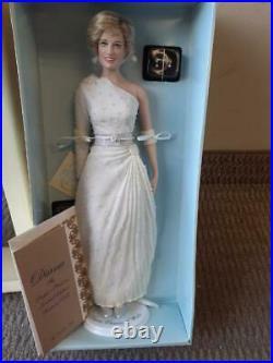 Franklin Mint Princess Diana Vinyl Doll HACHI Gown RARE Expo East LE 05/100 MIB