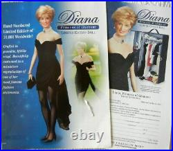 Franklin Mint Princess Diana doll -Princess of glamour- Vinyl