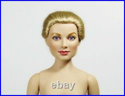 Franklin Mint Princess Grace Kelly Vinyl Doll NUDE USED No box With Stand