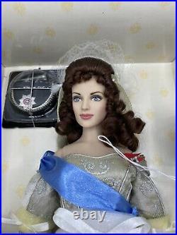 Franklin Mint Russian CZARINA Alexandra 16 Vinyl DOLL Box Queen Beautiful