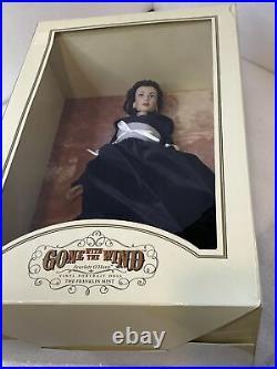 Franklin Mint Scarlett OHara Final Farewell 16 Vinyl Portrait Doll NEW