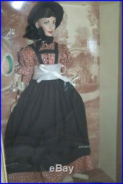 Franklin Mint Scarlett OHara Vinyl Doll Battlefield Gone with the wind New COA