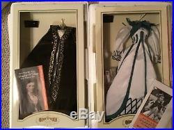 Franklin Mint Scarlett O'Hara Vinyl Doll + 12 Outfits display case wardrobe case