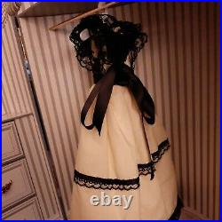 Franklin Mint Scarlett Vinyl Doll Wardrobe Trunk GONE WITH THE WIND