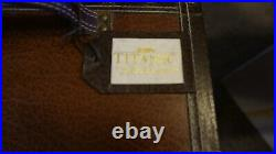 Franklin Mint TITANIC Rose DOLL TRUNK WARDROBE CASE with6 Wooden Hangers & Card