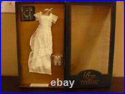 Franklin Mint Titanic Heavenly Gown Ensemble For Vinyl Rose Doll W COA